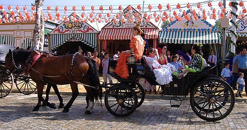 Feria de Abril i Sevilla