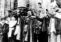 kirken i Franco-diktaturets