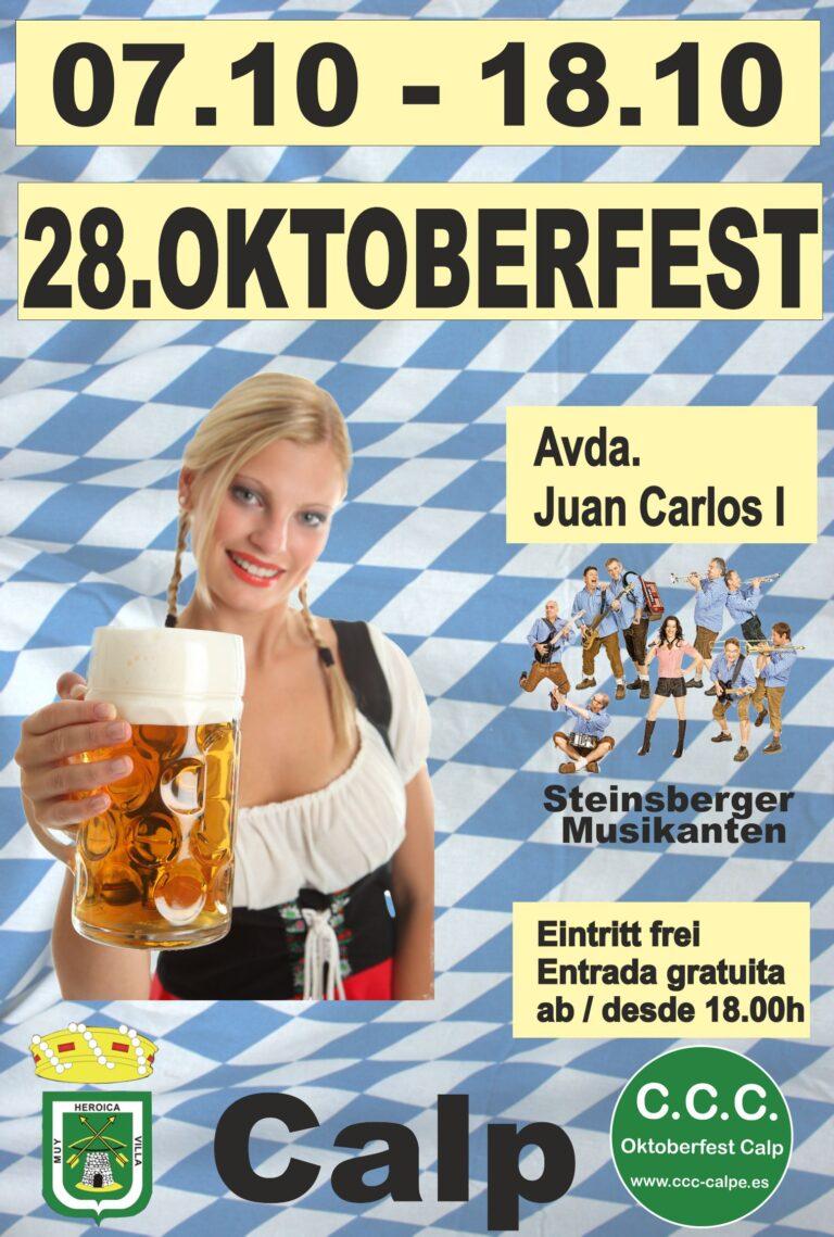 Oktoberfest i Calpe