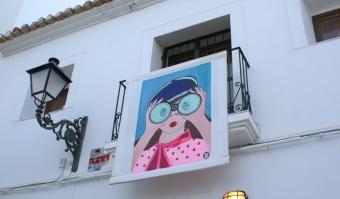 Foto: Et av bildene fra utstillingen Balconades i Altea (Ayuntamiento de Altea 2016).