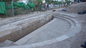 Foto: Det gamle vannreservoaret i Altea, Poador del Pontet (Ayuntamiento de Altea 2016).