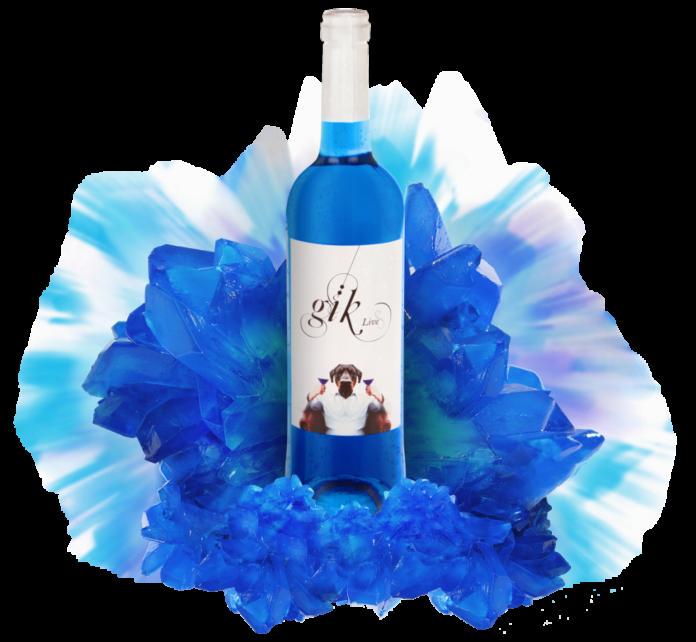 Blå vin fra Spania