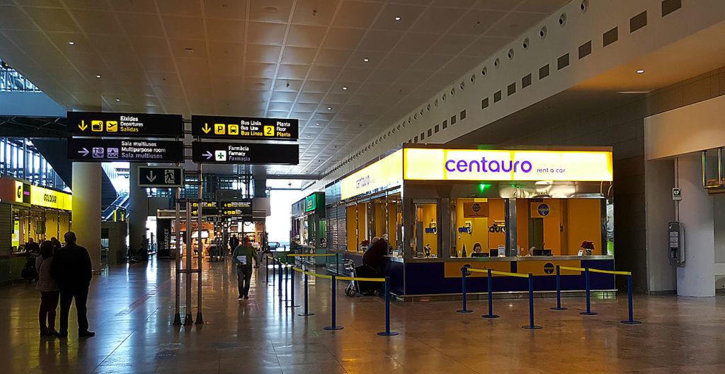 Centauro leiebil alicante flyplass