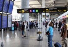 Ruten til Malga flyplass er blant dem som legges ned.