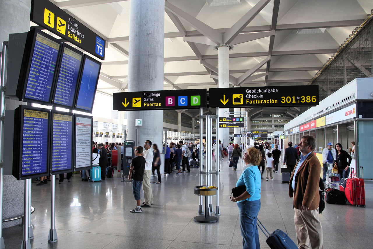 Malaga Flyplass (AGP) - Komplett flyplass-guide