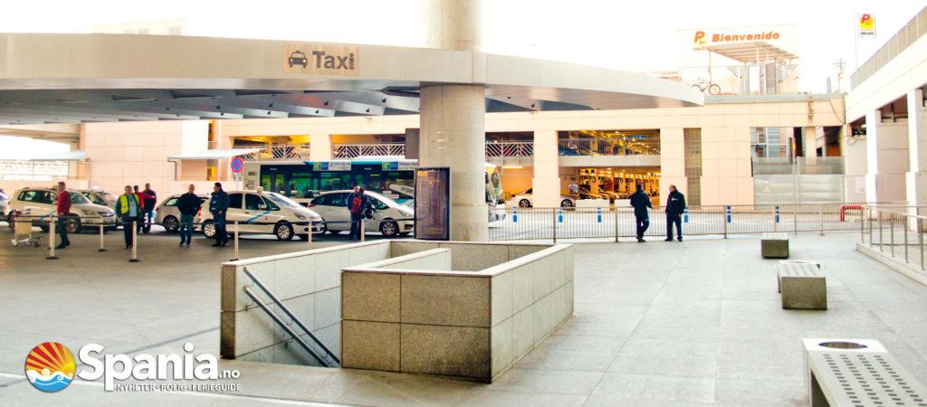 Malaga Flyplass Taxi