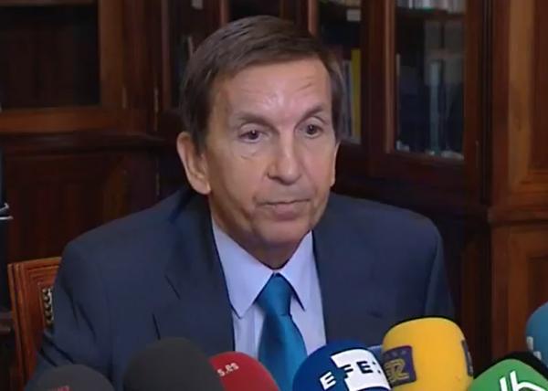 Foto: Den avgåtte statsadvokaten er Manuel Moix er også kritisert for å blande seg inn ikorrupsjonsetterforskningen av regjeringspartiet Partido Popular (PP) i Madrid og hindre politietterforskernes arbeid.