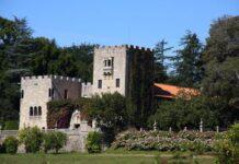 Foto: Slottet El pazo de Meirás er bygget på slutten av 1800-tallet og ligger i Sada i Galicia. Stedet har vært i Franco-familiens eie siden det ble kuppet av fascistene på slutten av 1930-tallet.