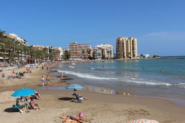 Foto: Playa del Cura (Prestens strand).