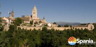 Segovia Spania