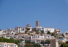 Foto: Utsikt mot kirken og gamlebyen i Altea, Costa Blanca.