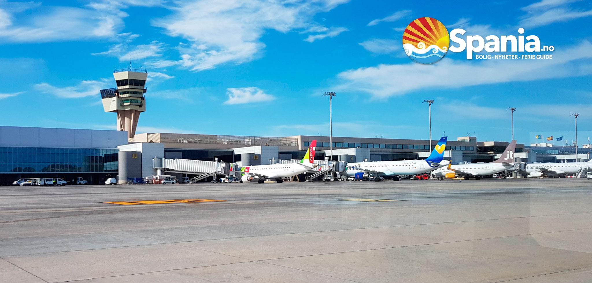 Gran Canaria Las Palmas flyplass - Flyplass-guide