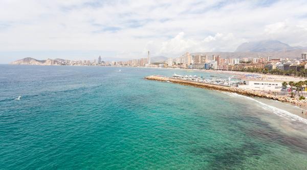 Foto: Benidorm, Costa Blanca (Alicante).