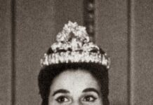 Foto: Carmen Franco var en kontroversiell person i spansk offentlighet. Hun var lenge president for foreningen Francisco Franco (FNFF) som jobber for å fremme Francos minne. Bildet er fra tiden da Franco var diktator i Spania.