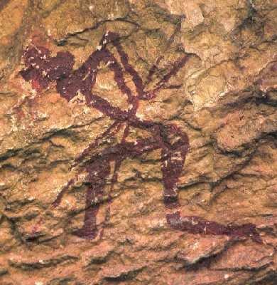 Foto: Hulemaleri fra Albocácer i Castellón-provinsen. Til tross for sin arkeologiske verdi er den prehistoriske kunsten i Valencia-regionen i dag lite kjent hos publikum (Federación Valenciana de Municipios y Provincias).