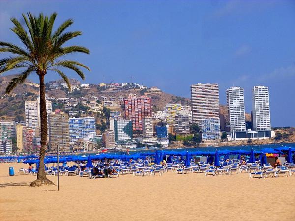 Foto: Benidorm, Costa Blanca (Alicante-provinsen).