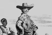 Foto: Adelstitler er avskaffet i mange land i Europa, men ikke i Spania der landets grunnlov fremdeles anerkjenner kongens rett til å gi titlene. Bildet viser en tegning fra nasjonalbiblioteket i Paris av en adelsmann i en spansk koloni på 1500-tallet.