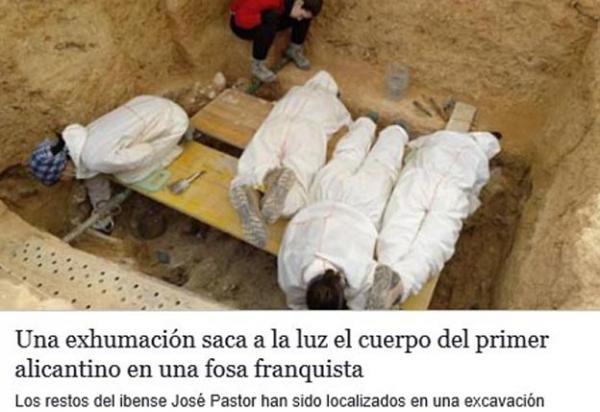 Historisk funn i massegrav i Paterna