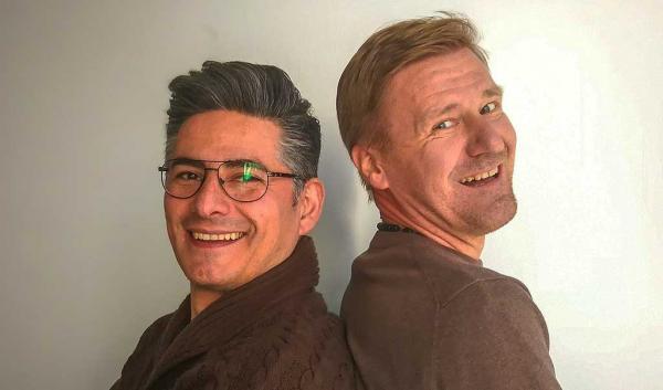 ertti og Andres flyttet fra Skandinavia til Barcelona. Fra kontoret i den katalanske hovedstaden tilbyr de nå billig grønn energi til boligeiere i hele Spania.
