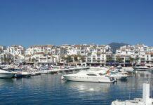 Puerto Banus like syd for sentrum av Marbella har mange kjente nattklubber.