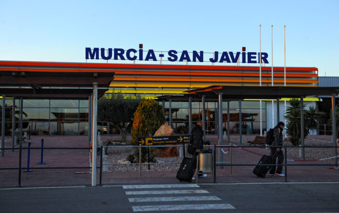 Murcia-flyplass-San-Javier