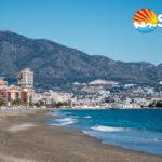 Mens antallet besøkende på Costa del Sol (bildet) har gått ned med 5% øker antallet besøkende til Costa Blanca.