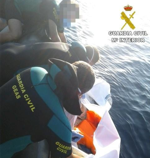 Villajoyosa: Lik funnet i sjøen