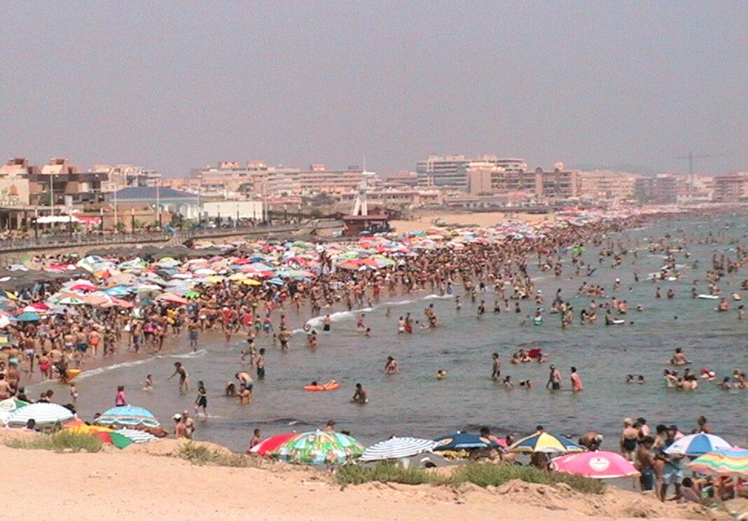 La Mata stranden i Torrevieja