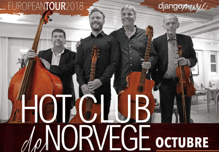 Hot Club de Norvege opptrer på Costa Blanca og Costa del Sol