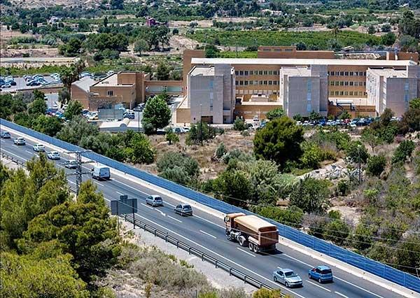 Bedre parkeringsmuligheter på sykehuset i Villajoyosa