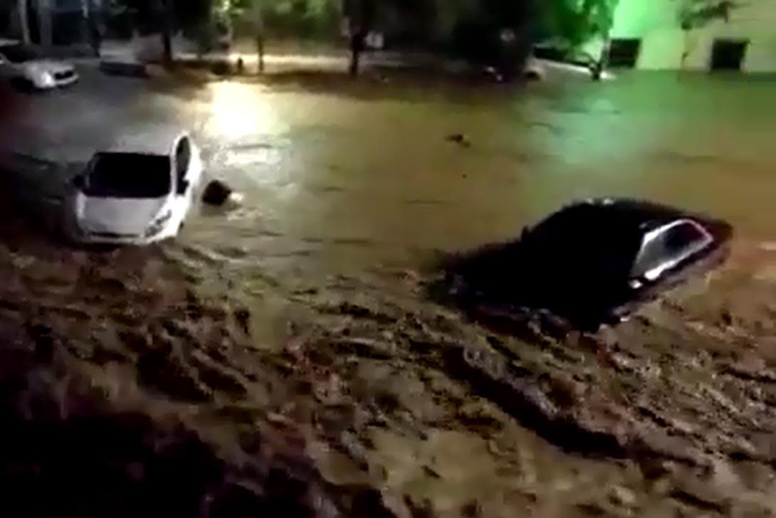 oversvømmelse i malaga