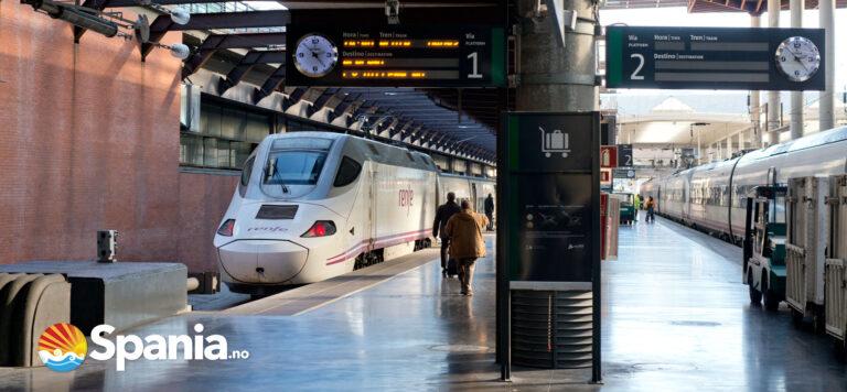 Lyntog Alicante-Valencia i 2020