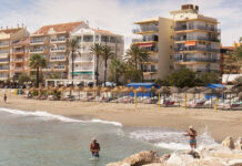 Strand i Fuengirola