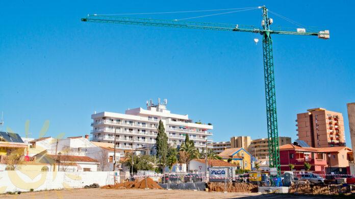 Nybygg under oppføring i Fuengirola.