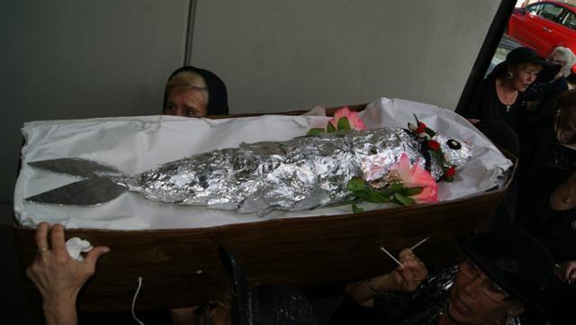 Sardinens begravelse forberedes på et eldrehjem i Torrevieja.