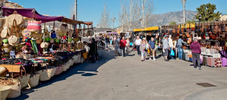 22 pågrepet på markedet i Fuengirola