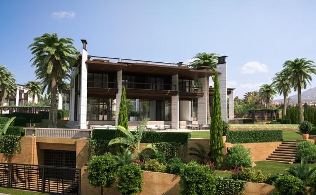 Hver bolig blir på rundt 1000m2 i tillegg til 500m2 terrasser med en prislapp på mellom 5.5 og 6 millioner Euro.