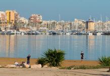 Havneområdet i Torrevieja