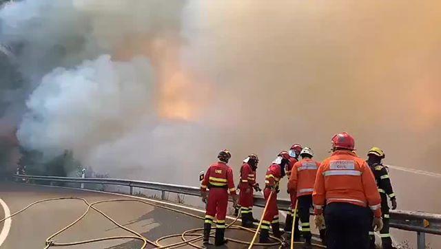 Gran Canaria: 9000 evakuert på grunn av skogbrannen