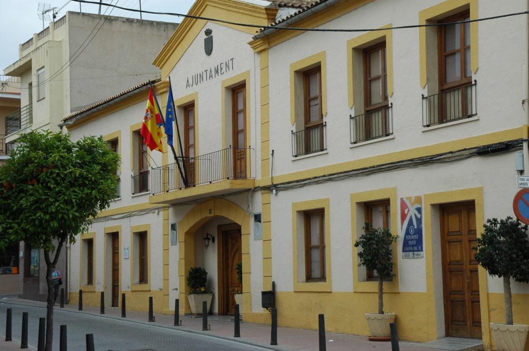 Illustrasjonsfoto: Rådhuset i Alfaz del Pi