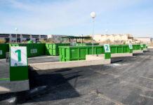 """Slike anlegg for håndtering av søppel plasseres normalt i industriområder eller utenfor bykjernen. Alfaz del Pi kommune har plassert sitt """"Punto verde"""" midt i et byggefelt i Albir."""