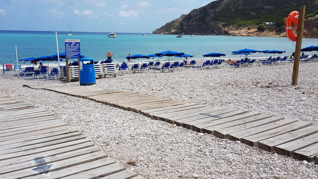 Stranden i Albir